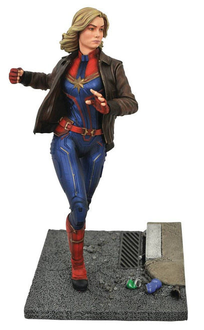 Marvel Premier Captain Marvel Movie Statue
