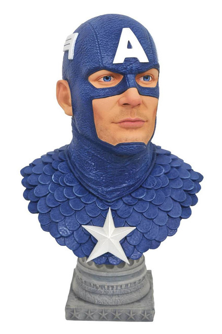 Legends in 3D Captain America 1:2 Scale Bust