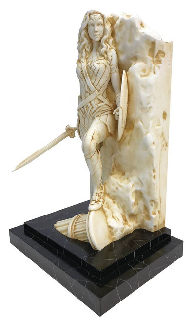 Wonder Woman Neo Classical Marble Finish Fine Art