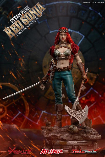 Red Sonja (Steam Punk) 1:6 Scale Figure