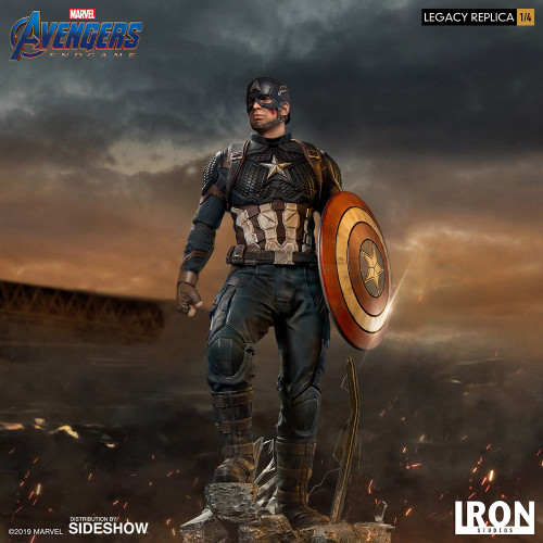 Captain America 1:4 Scale Statue