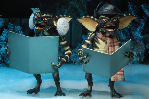 Gremlins Christmas Carol Winter Scene Two Pack