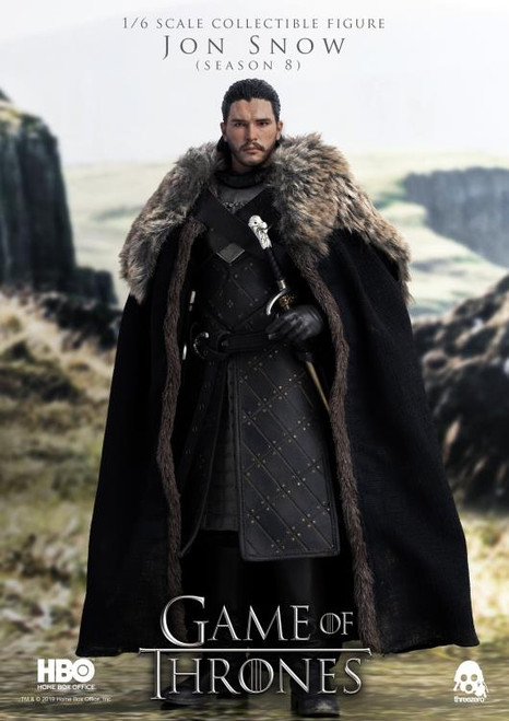 Game Of Thrones (Season 8) Jon Snow 1:6 Scale Figure