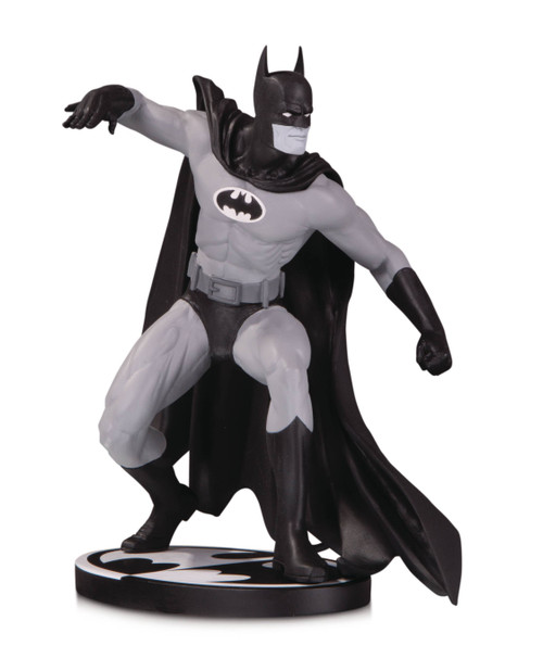 Batman Black and White Statue by Gene Colan