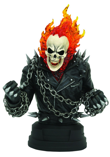 Marvel Comic Ghost Rider 1:6 Scale Bust