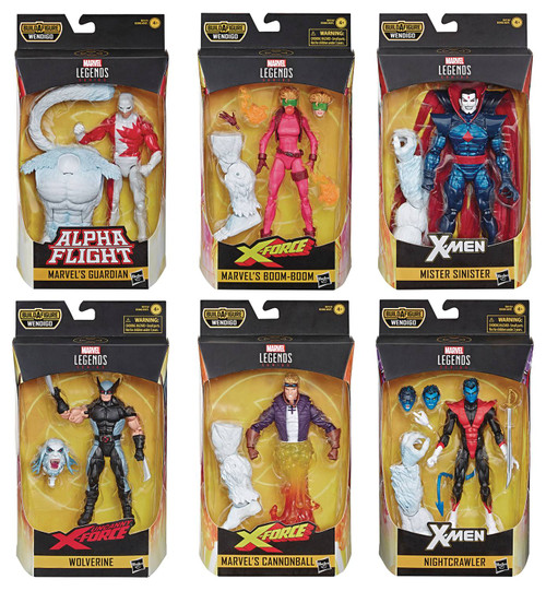 "X-Force Legends 6"" Action Figure Set"