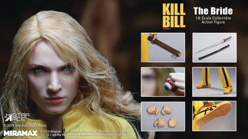 Kill Bill Volume 1 The Bride 1:6 Scale Figure