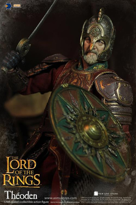 The Lord of the Rings Theoden 1:6 Scale Figure