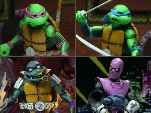 "TMNT: Turtles in Time 7"" Figure Set Series 1"