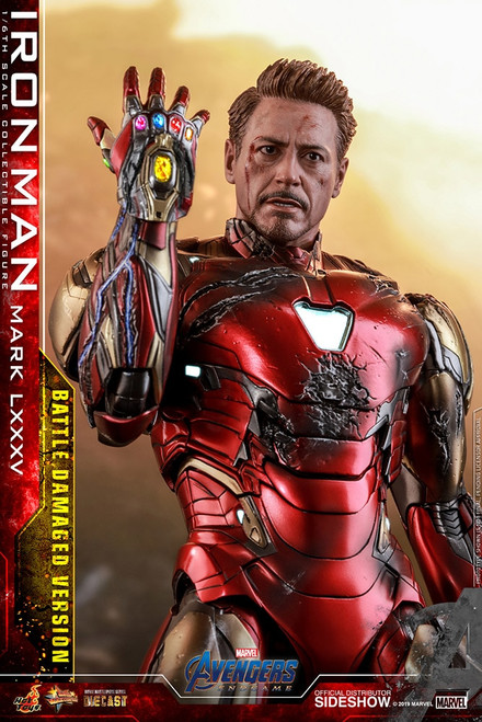 hot toys iron man mark 85 battle damaged version
