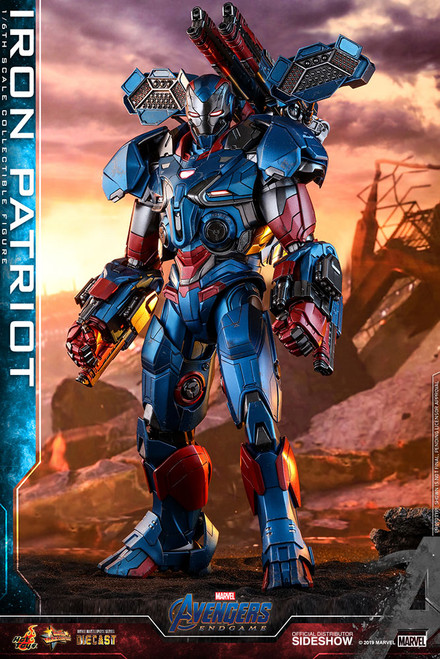 hot toys endgame iron patriot