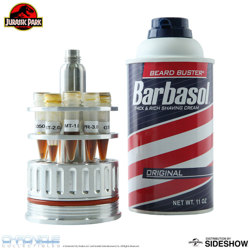 chronicle collectibles jurassic park barbasol