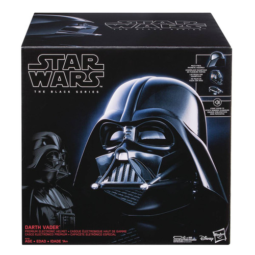 Star Wars Black Darth Vader Electronic Helmet