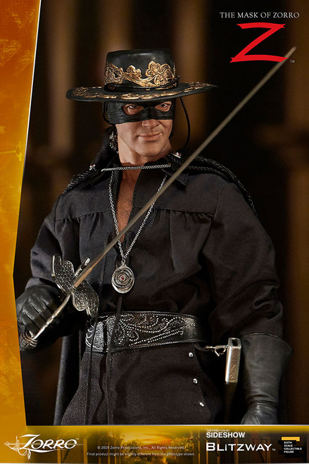 The Mask of Zorro 1:6 Scale Figure