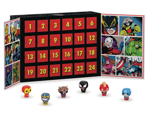 funko pocket pop marvel advent calendar