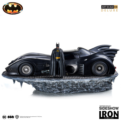 Batman and Batmobile Deluxe Collectible Set