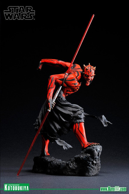 Star Wars Darth Maul ARTFX (Japanese Ukiyo-E Style) Statue