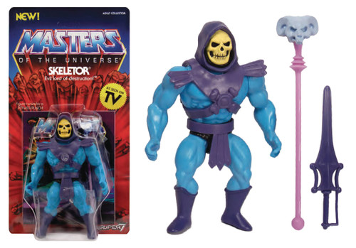 super7 masters of the universe vintage skeletor