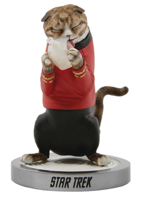 star trek scotty cat statue