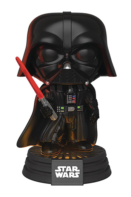 funko electronic darth vader pop