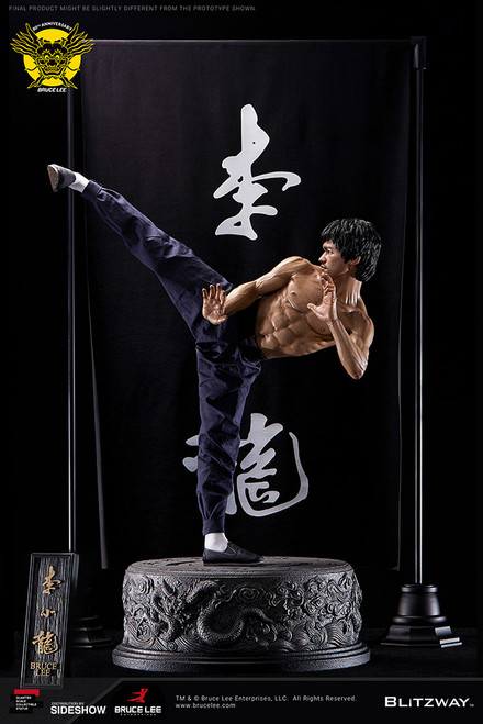 blitzway bruce lee tribute statue