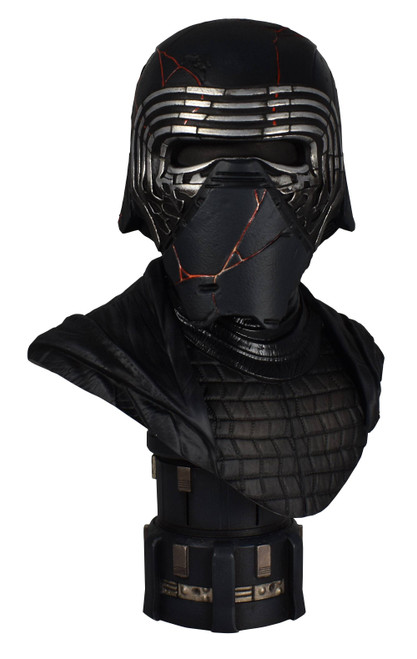 star wars legends in 3d kylo ren half scale bust