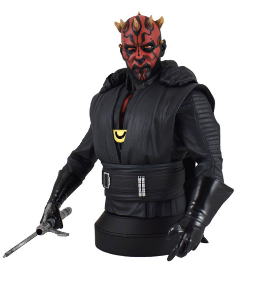 star wars crimson dawn darth maul sixth scale bust