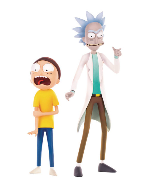 Rick and Morty Collectible Figure Set