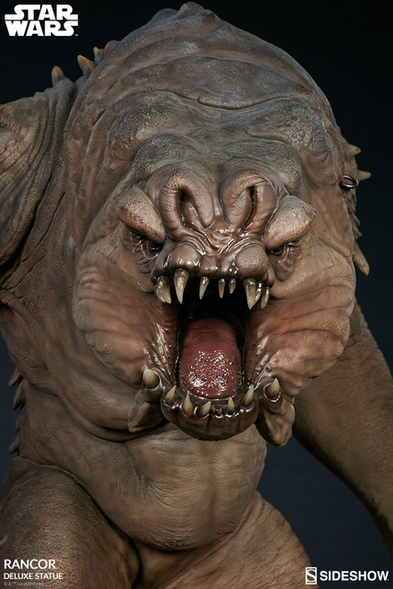 sideshow collectibles rancor deluxe statue