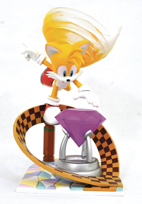 Diamond Select Toys Sonic Gallery Tails Statue