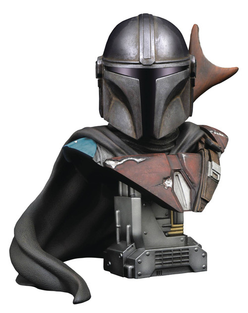 Diamond Select Toys Star Wars Legends in 3D Mandalorian 1:2 Scale Bust