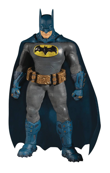 Mezco Toys One:12 Collective DC Supreme Knight Batman Blue Previews Exclusive Figure