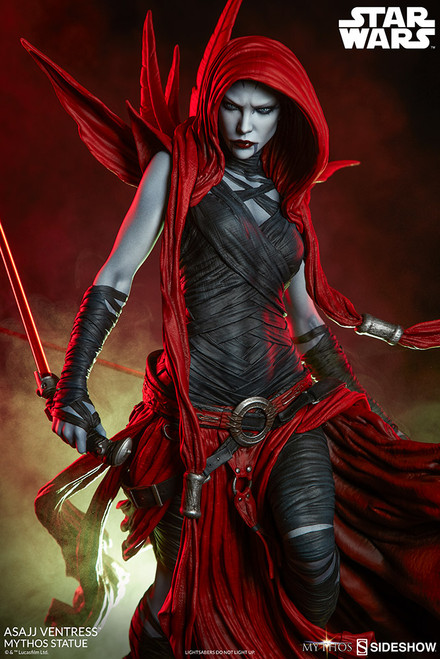 sideshow collectibles asajj ventress mythos statue