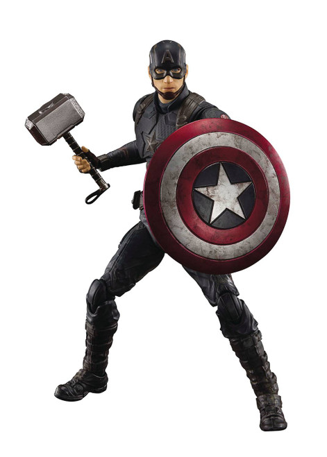 Tamashii Nations Avengers Endgame Final Battle Captain America S.H. Figurearts