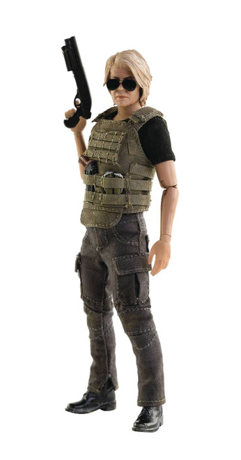 Three A Trading Company Terminator Dark Fate Sarah Connor 1:12 Scale Figure