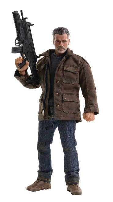 Three A Trading Company Terminator Dark Fate T-800 1:12 Scale Figure
