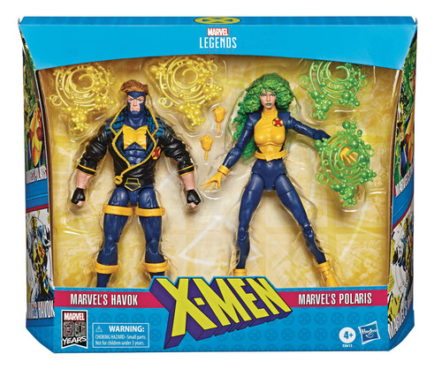 hasbro x-men legends havok polaris