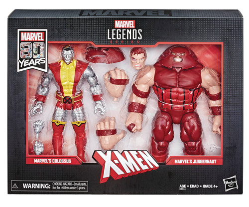 hasbro marvel legends colossus juggernaut set