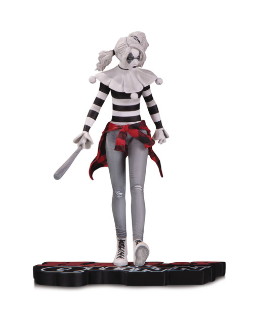 DC Comics Harley Quinn Red White and Black Statue by Steve Pugh