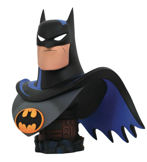 Diamond Select Toys Batman the Animated Series Legends in 3D Batman 1:2 Scale Bust