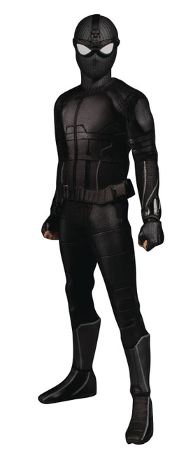 Mezco Toys One:12 Collective Spider-Man Stealth Suit Previews Exclusive Action Figure