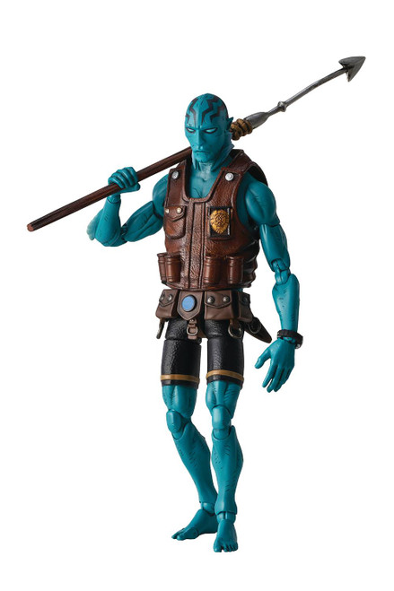 1000 Toys Hellboy Abe Sapien Previews Exclusive Standard Version 1:12 Scale Figure
