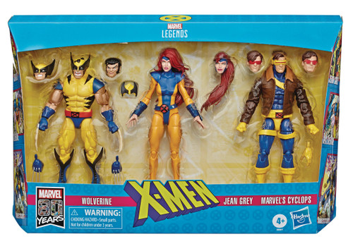 hasbro x-men legends wolverine jean cyclops