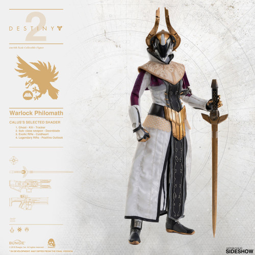 Threezero Destiny 2 Warlock Philomath (Calus's Selected Shader) 1:6 Scale Figure