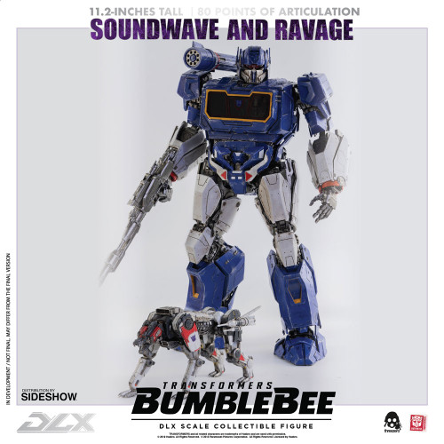 threezero soundwave ravage dlx figure