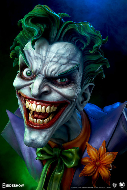 sideshow collectibles joker life size bust