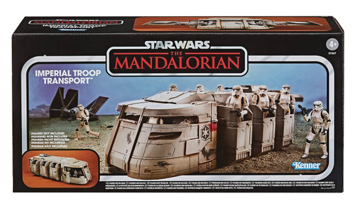 hasbro star wars vintage collection mandalorian troop transport