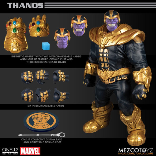Mezco One:12 Collective Thanos Figure