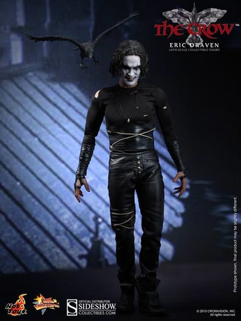 Hot Toys The Crow - Eric Draven 1:6 Scale Figure (Display Piece)