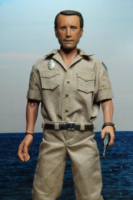 neca jaws chief martin brody 8 inch figure